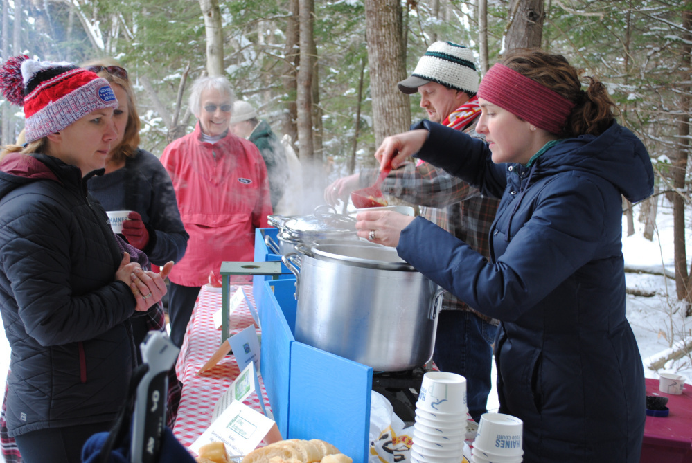 Food is served at a previous Table Tour. This year's event is set for Feb. 3 at Viled Arboretum.
