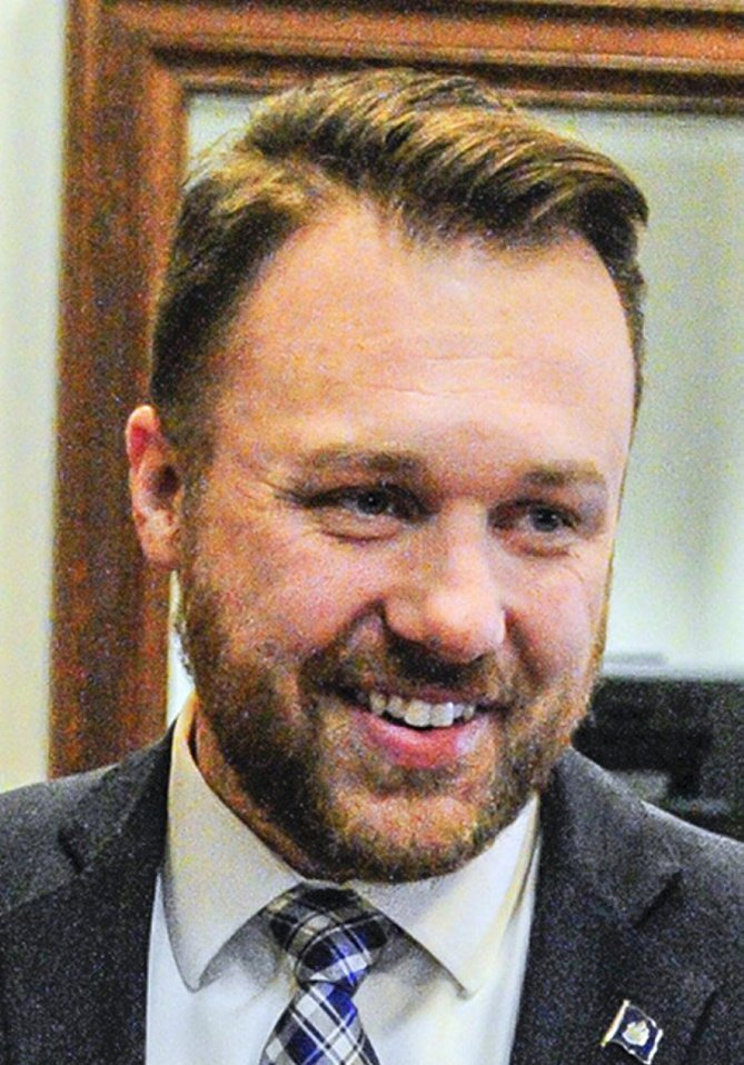 The four Republican leaders in the Legislature are backing Garrett Mason to be the party's chairman.