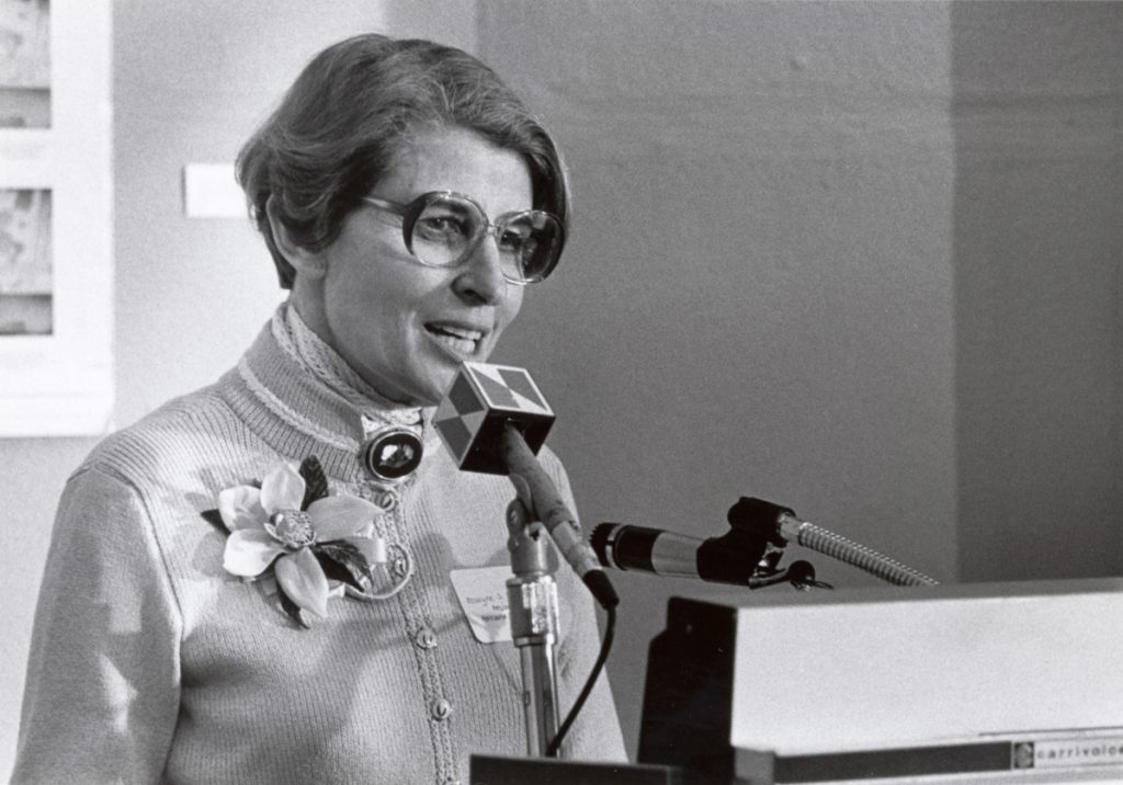 """""""Roz"""" Bernstein is credited with expanding opportunities for women and the Jewish community in Maine."""