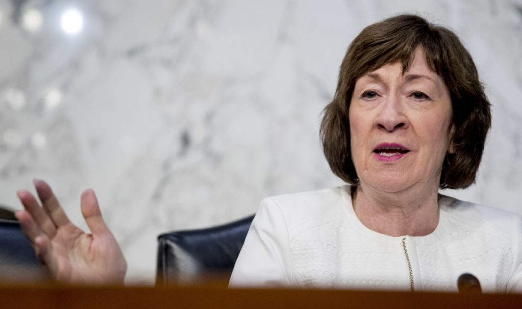 """""""For the president to invoke the National Emergency Act would be an extraodinary step,"""" Sen. Susan Collins said."""