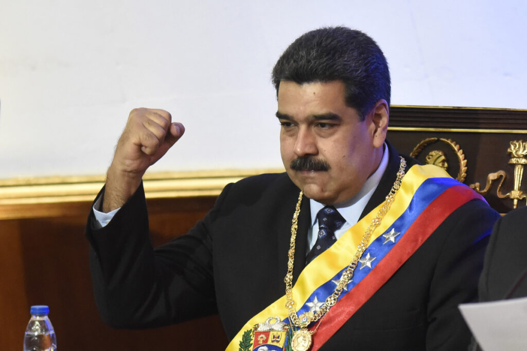 Venezuela's Nicolas Maduro on Thursday ordered the nation's diplomats home from the United States.
