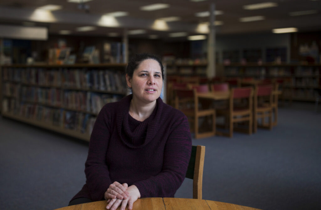"""""""This is a big deal,"""" says Mardi Klein, who has been substitute teaching at Riverton Elementary School in Portland this year while she looks for a full-time position in higher education administration. """"It gives you a real feeling of relief."""""""