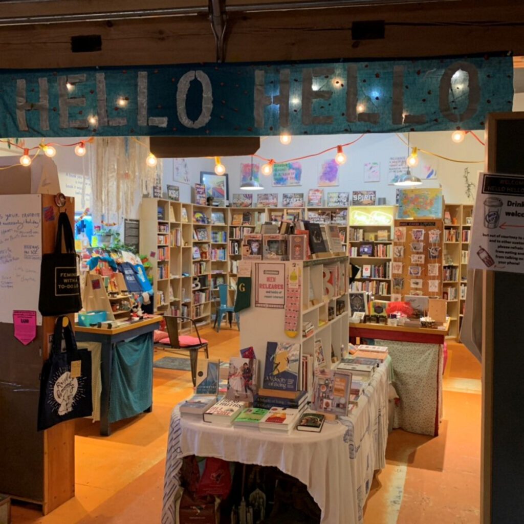 Rockland's Hello Hello Books is among five finalists for Publishers Weekly's bookstore of the year award.