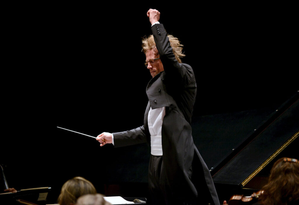 Eckart Preu, the PSO music director-designate, also will show off some of his skills as conductor.