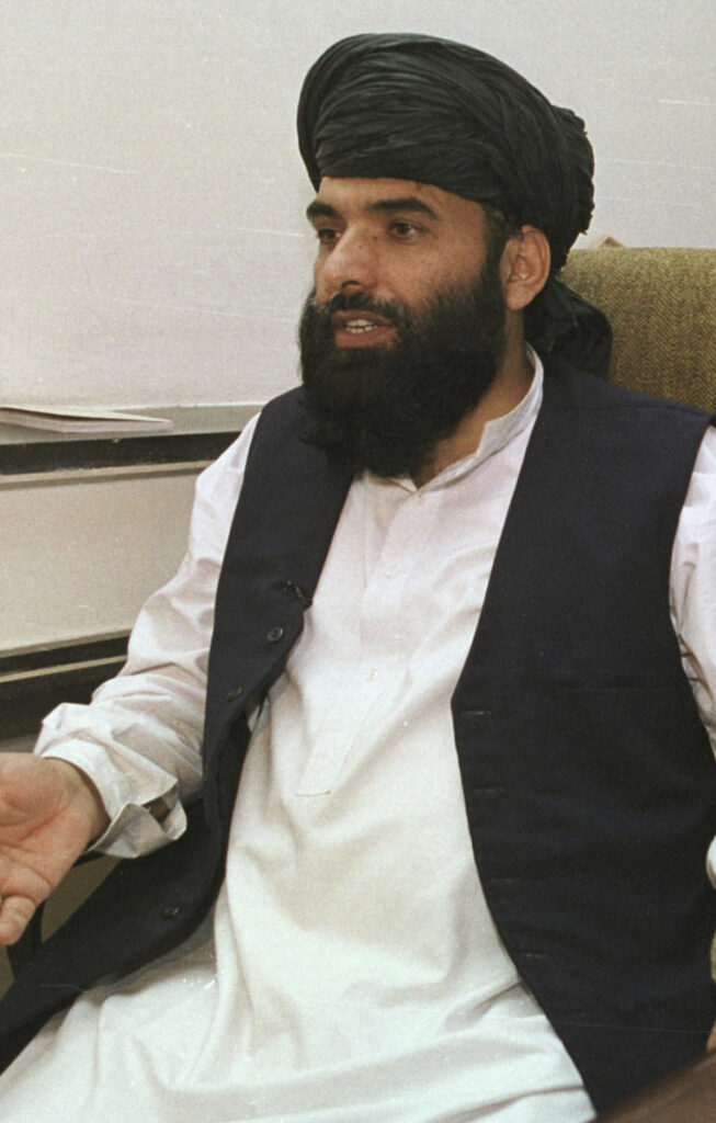 """Tthe Taliban are not seeking a """"monopoly on power"""" in Afghanistan, their spokesman Suhail Shaheen says."""