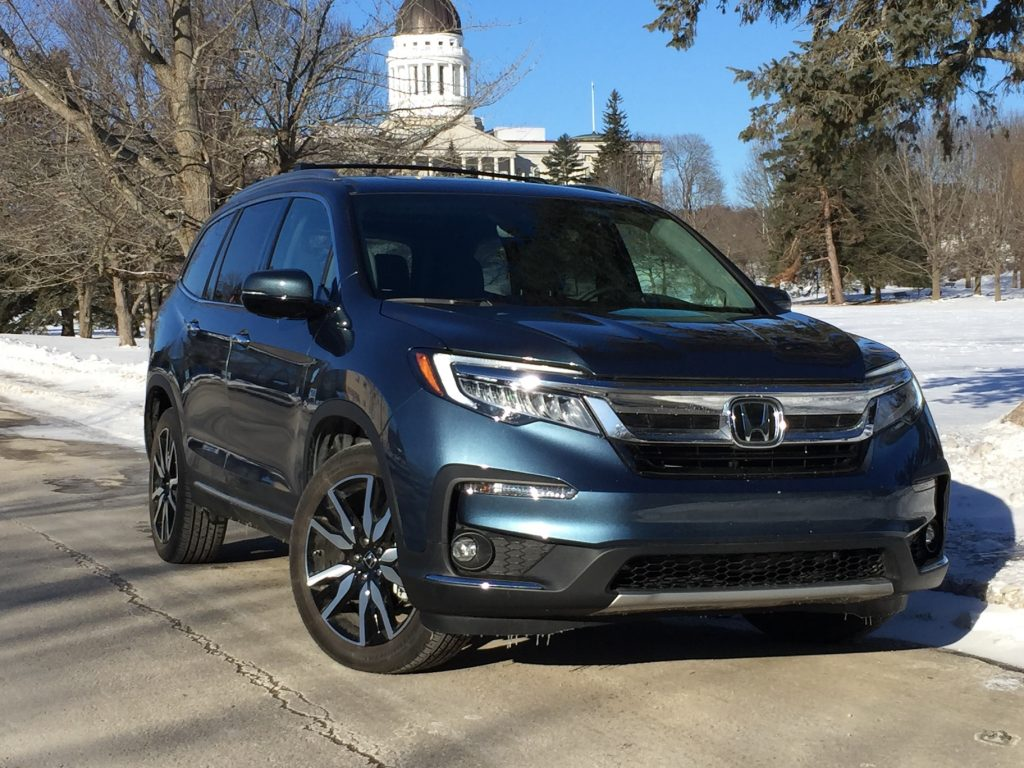 The Honda Pilot Elite AWD is one of the manufacturer's four crossovers. Photo by Tim Plouff.