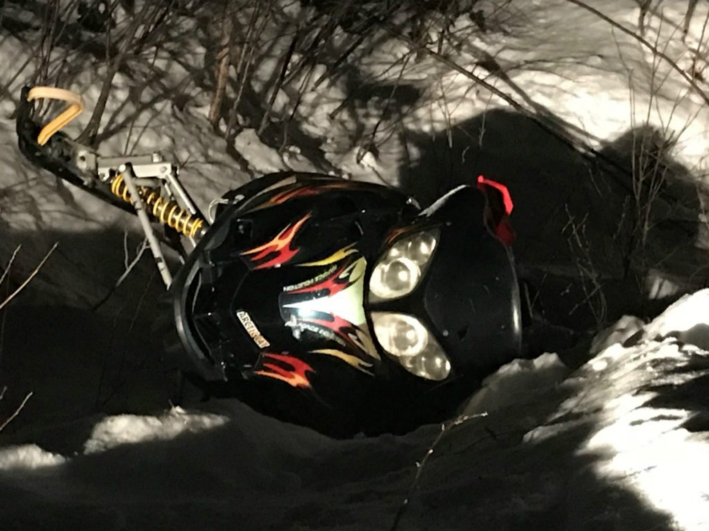 Gregory Simmons, 47, of Andover died Thursday night after he was ejected a2006 Arctic Cat F6.
