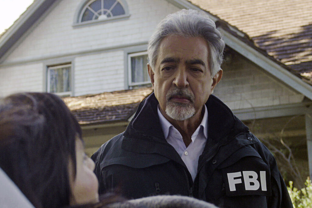 """Actor Joe Mantegna as David Rossi in a """"Criminal Minds"""" episode, titled """"Sick and Evil,""""which aired Wednesday night"""