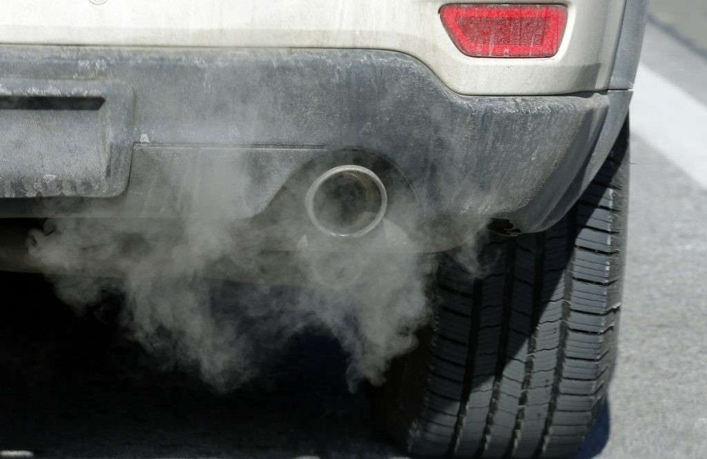 Transportation produces about 40 percent of carbon emissions along the East Coast. Associated Press/Rick Bowmer