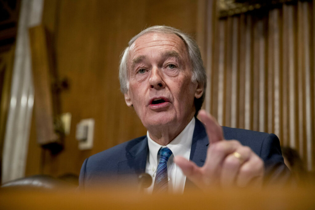 Sen. Ed Markey, D-Mass., is among those leading the effort for a Green New Deal intended to transform the U.S. economy to combat climate change and create jobs in renewable energy.