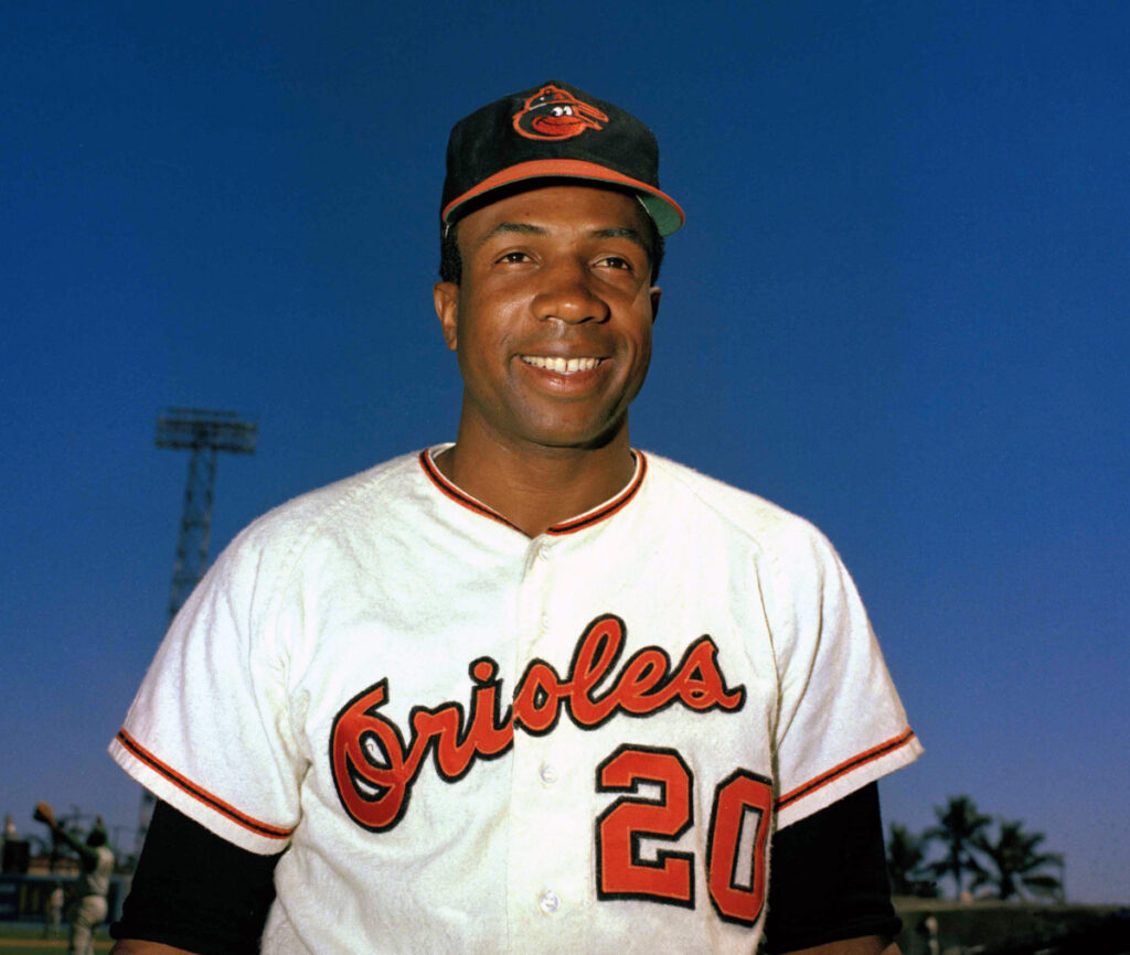 After a Hall of Fame playing career that included MVP awards in both the American and National League, Frank Robinson had a long career as a manager and executive. He managed five teams, including the Cleveland Indians, where he was the first black manager in major league history.