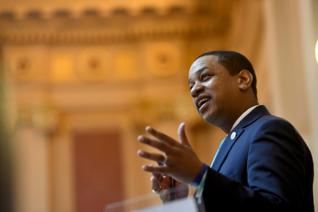 A second woman has come forward with accusations against Virginia Lt. Gov. Justin Fairfax.