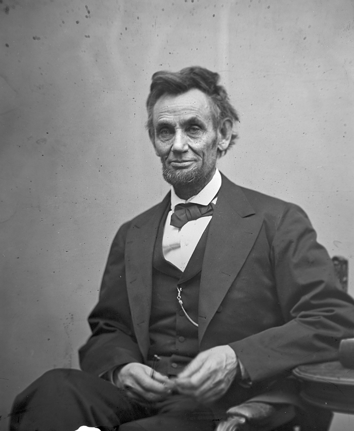 Photo by Alexander Gardner, Library of Congress Some think President Abraham Lincoln may have had Marfan Syndrome.