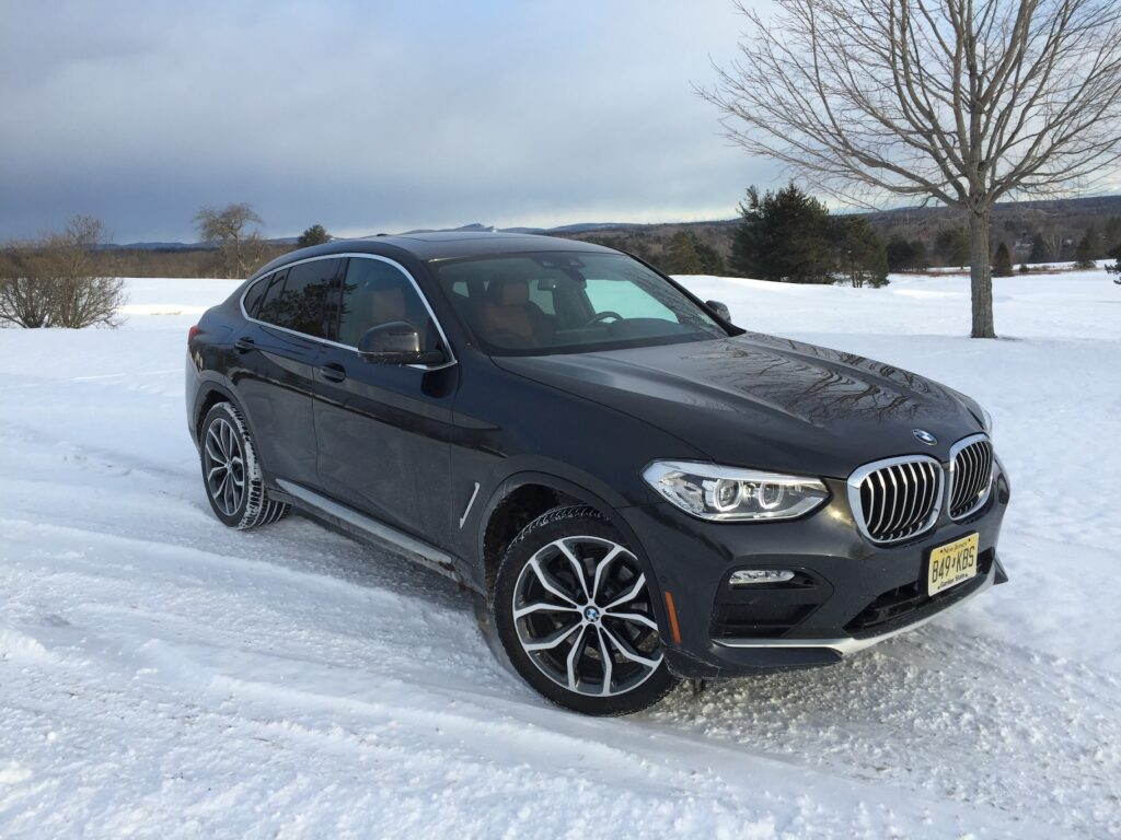 The xDrive30i's pricing starts at $51,445, including destination fee. Photo by Tim Plouff. Location: Penobscot Valley Country Club, Orono.