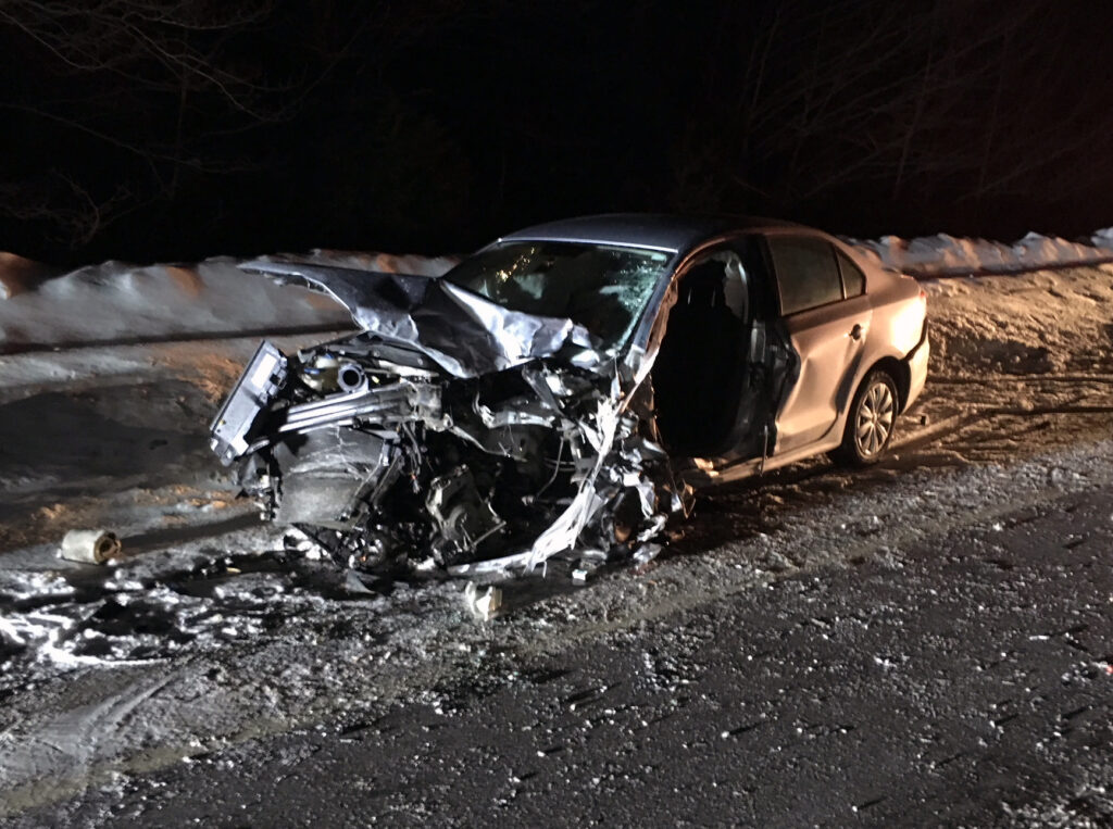 A Harmony man was killed Monday night in a head-on crash in Bingham 1.5 miles north of the state rest area on U.S. Route 201. Michael Handy, 46, was pronounced dead at the scene.