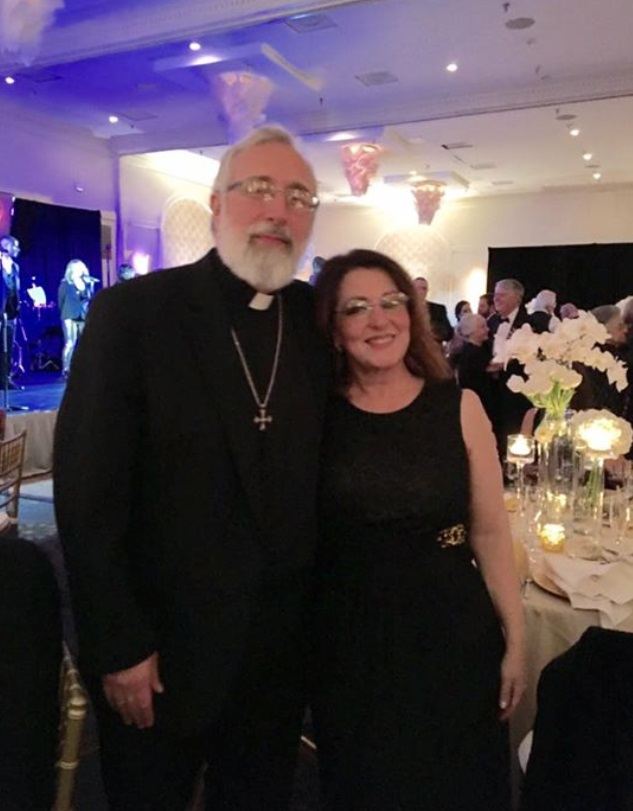 The Rev. Jon C.  Emanuelson and his wife Barbara.