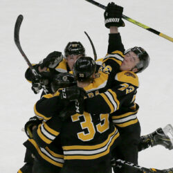 Bruins continue streak with stunning comeback. Boston scores twice in the  final minute to beat ... f3b713083