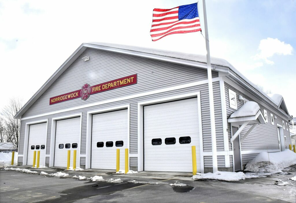 The Norridgewock Fire Department building, seen Wednesday. Selectmen voted unanimously Wednesday to apply for a grant that will create two full-time firefighter positions.