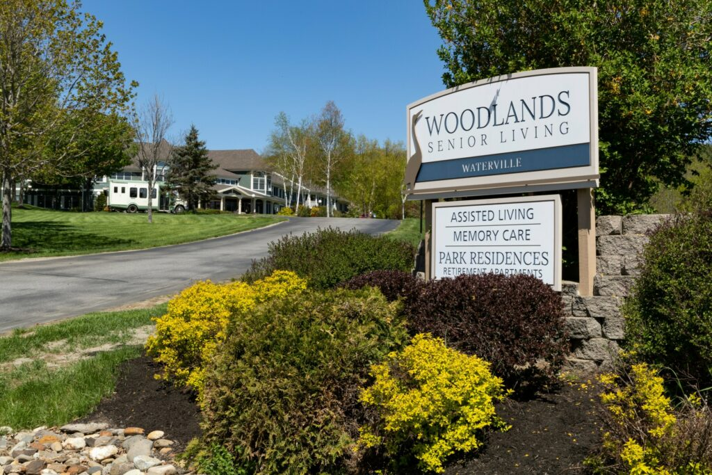 Woodlands Senior Living, which now operates 14 assisted living and dementia units across the state, has plans to develop another facility in Madison. Pictured above is the Waterville facility on West River Road in May 2018.