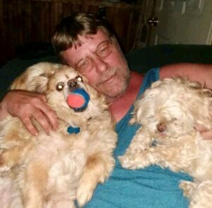 Michael Handy, of Harmony, was killed Feb. 18 in a head-on crash on U.S. Route 201 in Bingham. His dog, Tootie, also was killed that night. The dog's body was found inside the wreckage this week.