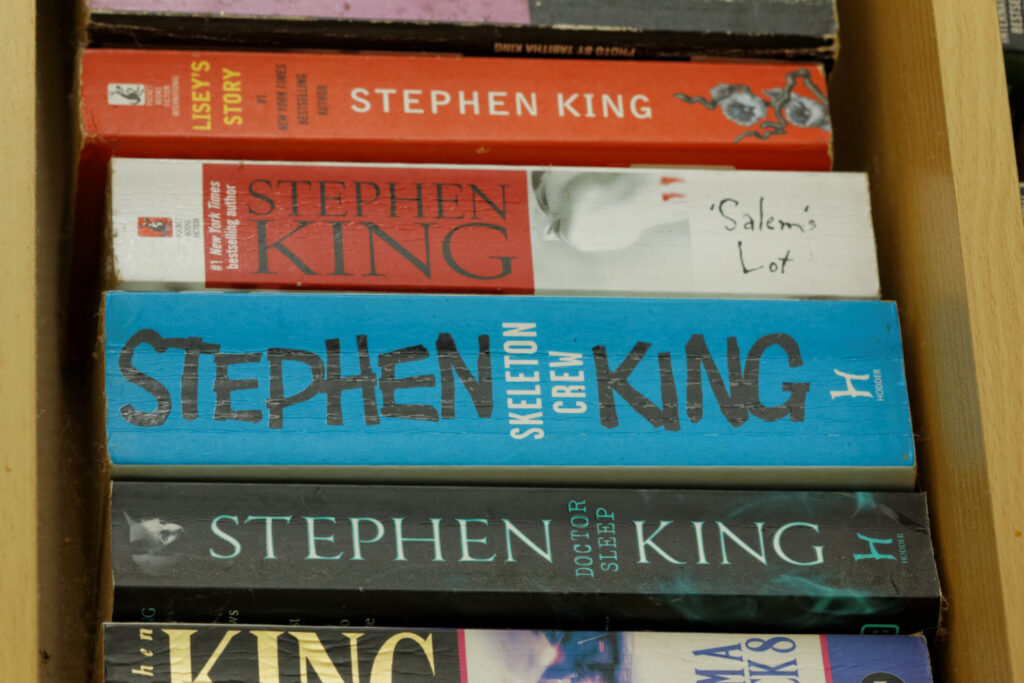 Stephen King's books are popular with filmmakers.