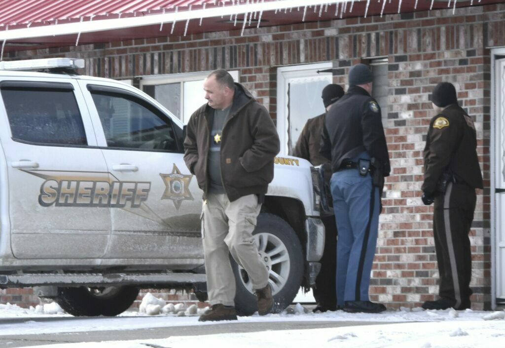 Maine State Police and Somerset County deputies converged outside Lovley's Motel in Palmyra after a deputy discovered the body of a deceased male inside room 6 on Wednesday,