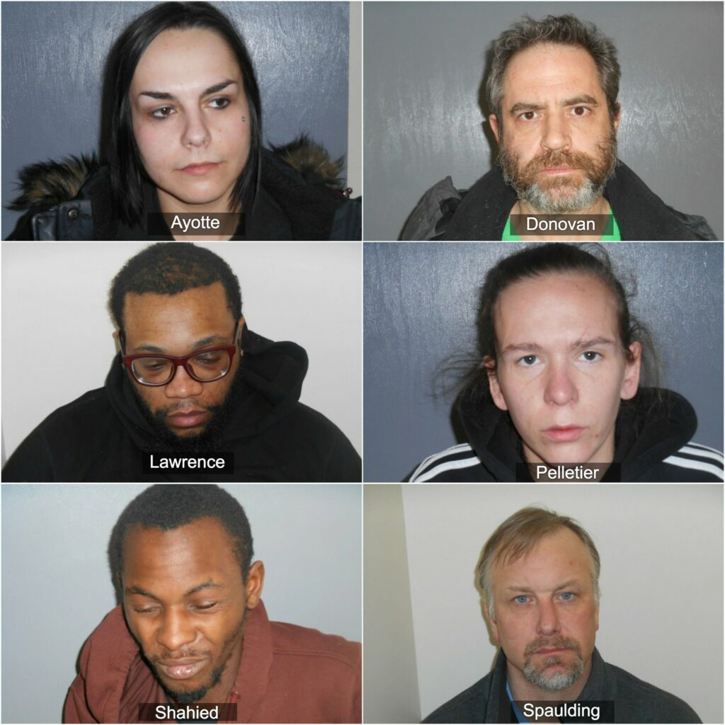 Waterville police arrest six people in two drug busts
