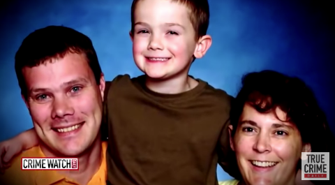 Jim and Amy Pitzen are shown with their son, Timmothy.