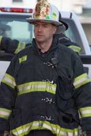Farmington Fire Rescue Chief Terry Bell