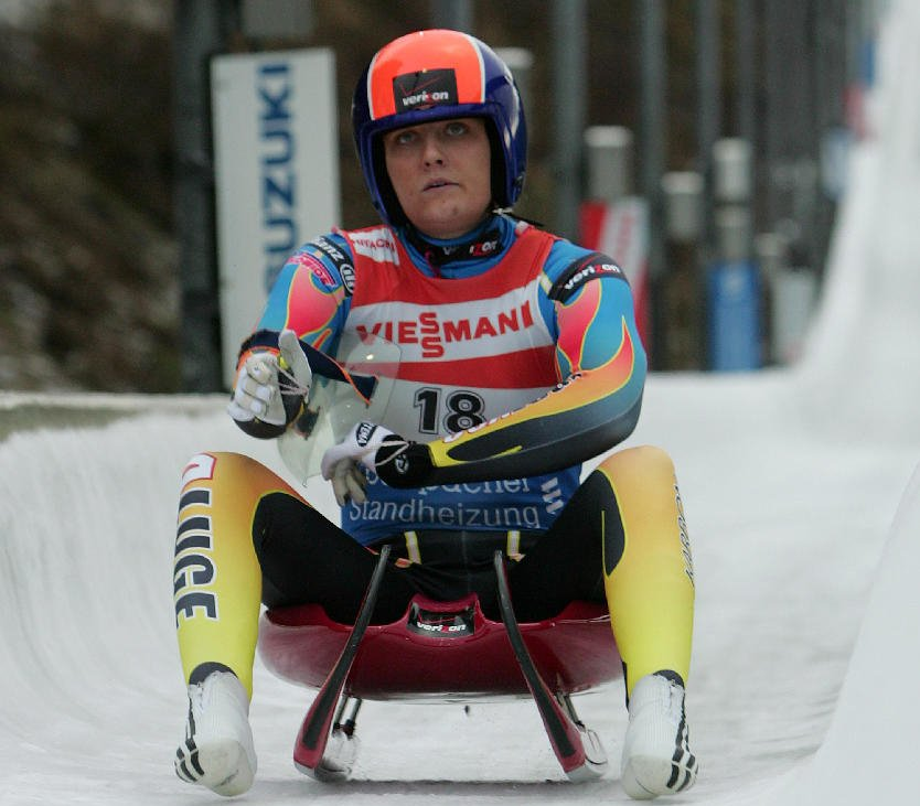 Julia Clukey, just 22, is the second-ranked American women's luger, and eighth in the world. She's already preparing for the 2010 Olympics in Vancouver, British Columbia.