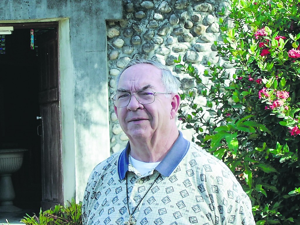 The Rev. Real Corriveau has spent since 1963 as a missionary in Haiti. Corriveau is a native of Winthrop.