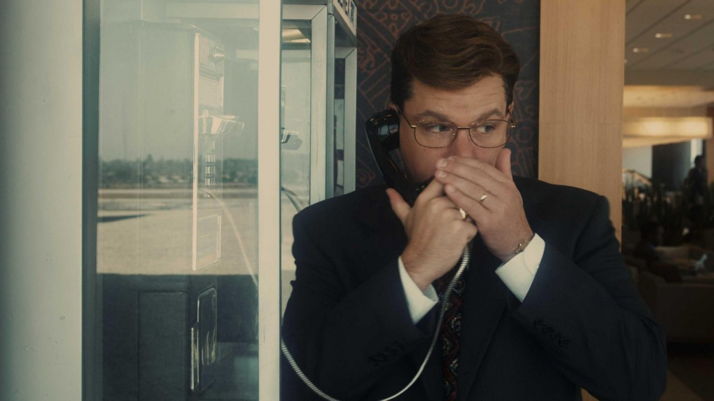 "Matt Damon shows his comedic abilities in Steven Soderbergh's ""The Informant!"""