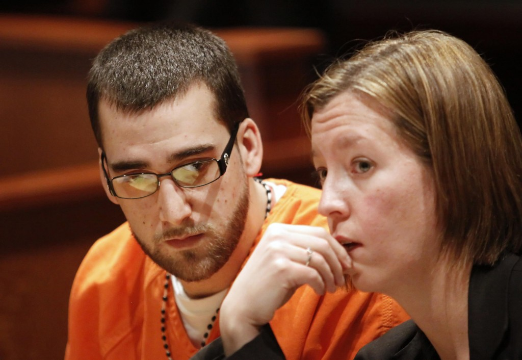 Brandon Brown sits with his lawyer, Sarah Churchill, at his sentencing. The victim, James Sanders, did not attend, saying he did not want to spend any more time looking back. The shooting left Sanders paralyzed from the waist down.