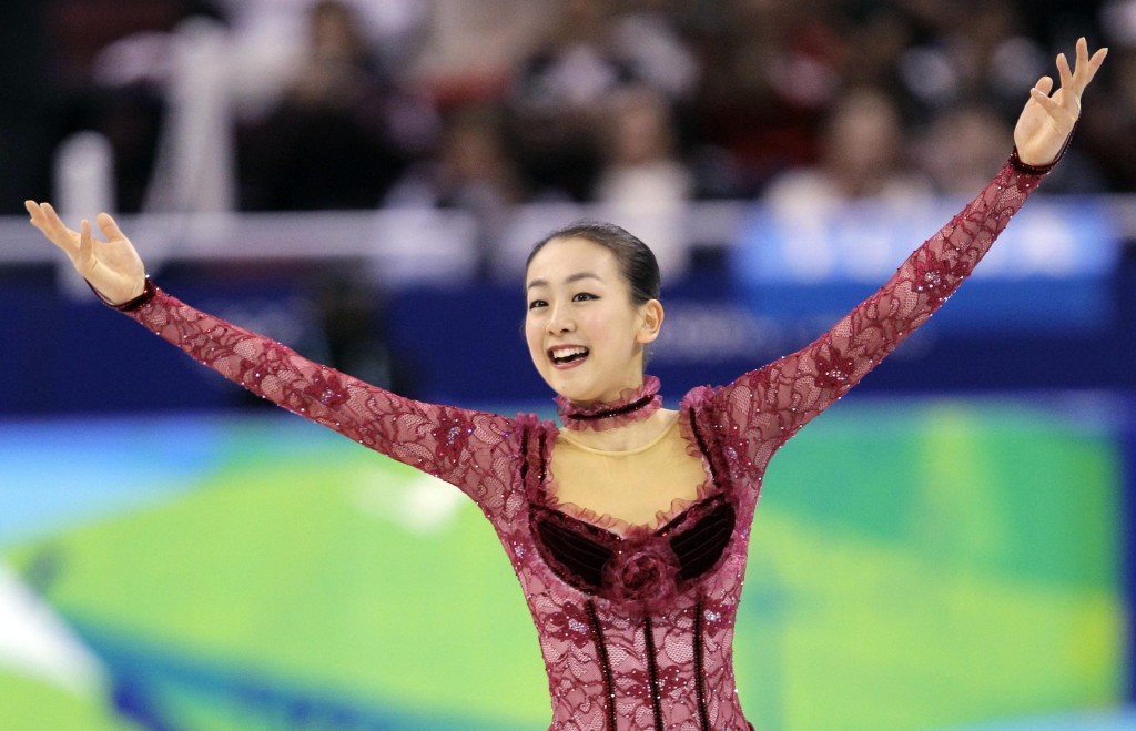 Japan's Mao Asada performs her short program during the women's figure skating competition at the Vancouver 2010 Olympics in Vancouver, British Columbia, on Tuesday.