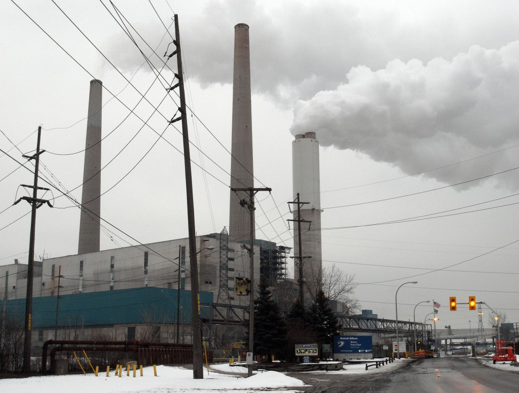 The Monroe Power Plant in Monroe, Mich., consists of four generating units built in the early 1970s. The plant is a large source of emissions of carbon dioxide, a heat-trapping gas that accumulates in the atmosphere.