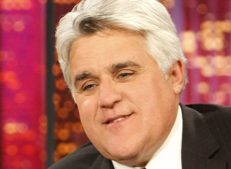 """I'm Jay Leno, your host. At least, for a while."""