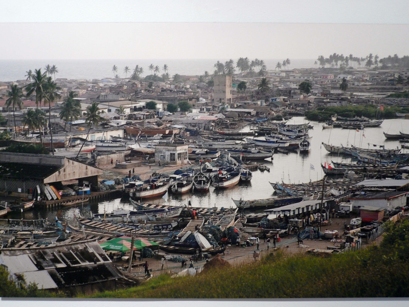 "A view from ""Ghana: An African Portrait Revisited."""
