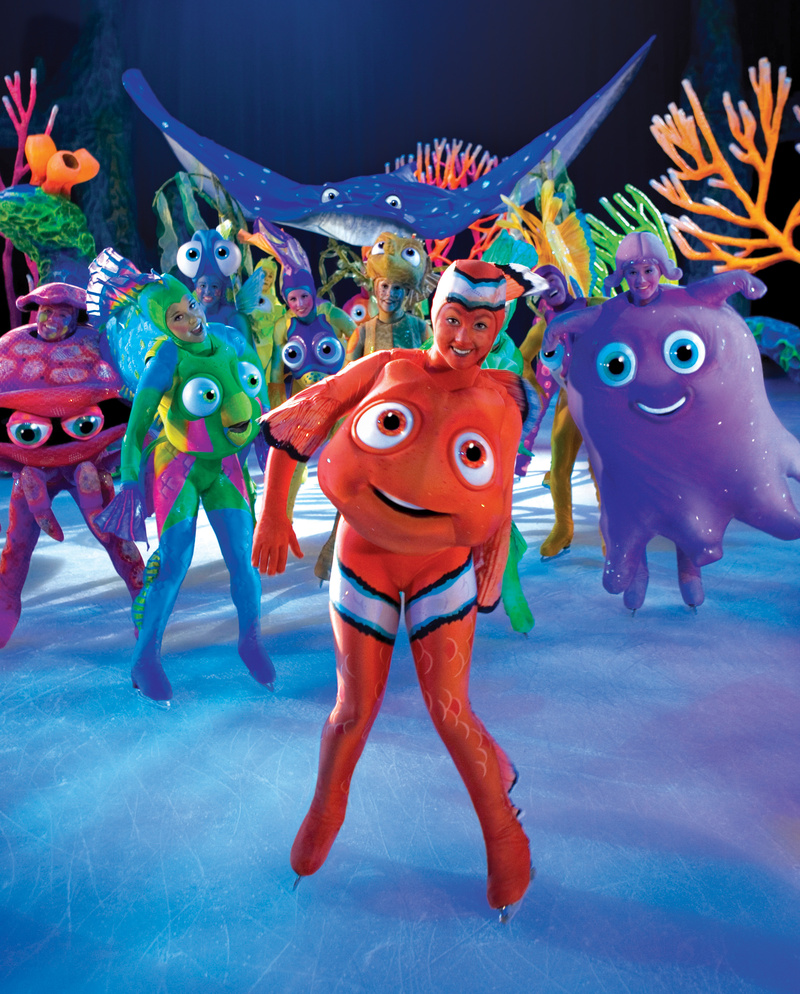 """Finding Nemo"" brings the ocean fantasy to ice, with the help of some former competitive skaters."
