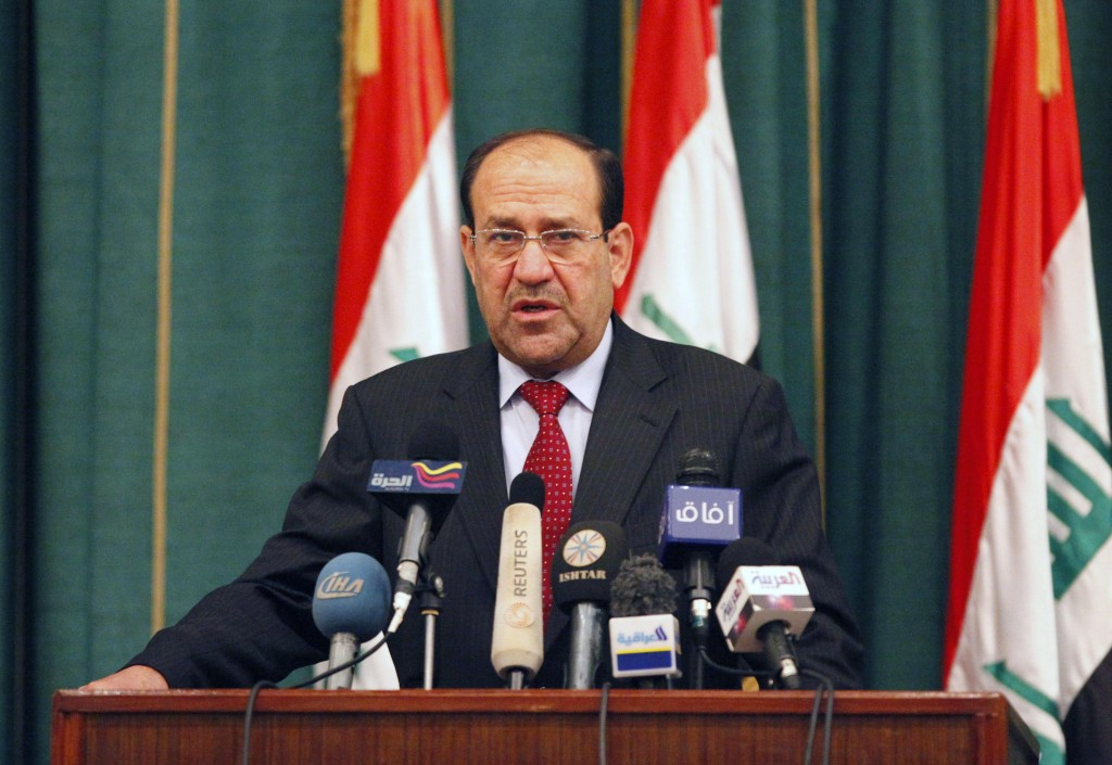 Nouri al-Maliki may be willing to forge an alliance.