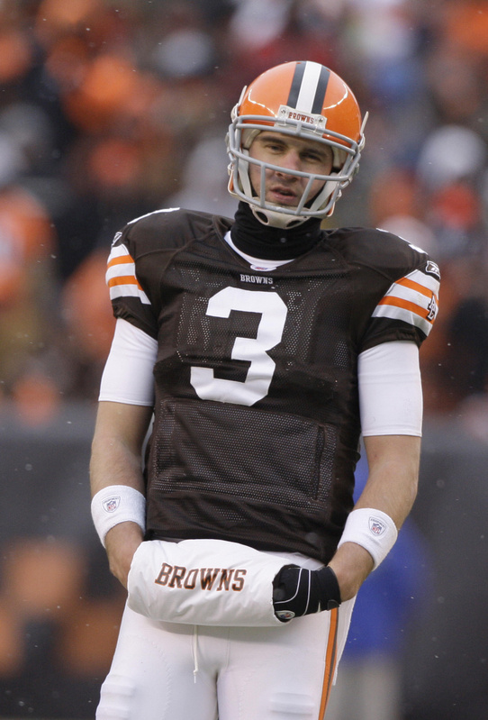 Derek Anderson was released Tuesday by the Cleveland Browns, one day after they acquired backup quarterback Seneca Wallace.