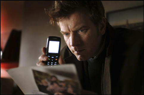 "Ewan McGregor in ""The Ghost Writer."""
