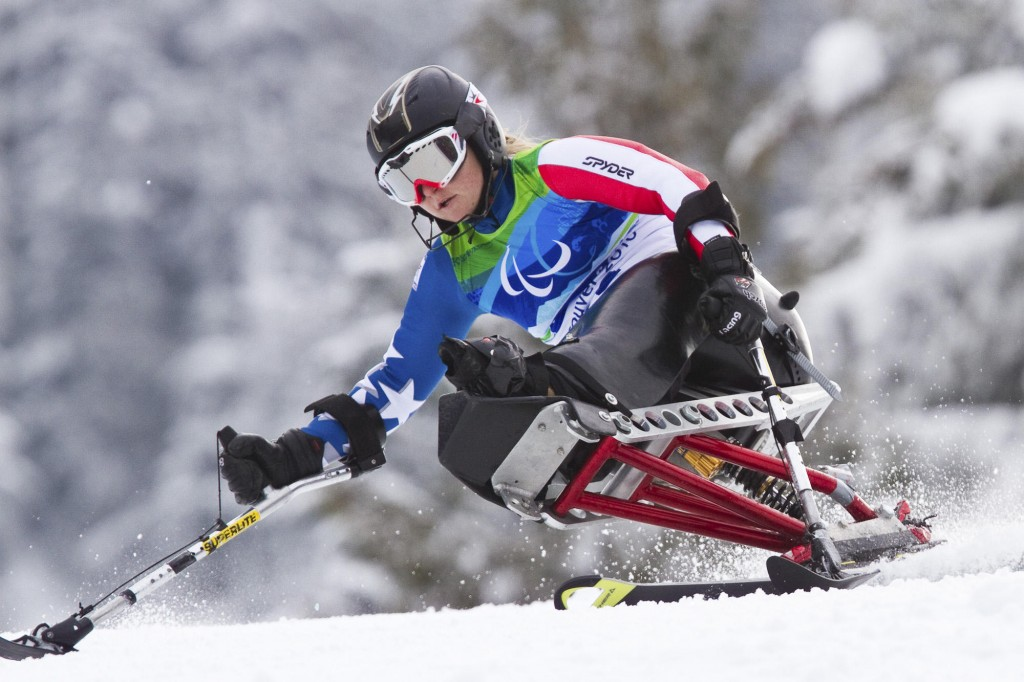 Luba Lowery, a longtime Cumberland resident who attends the University of Denver, is competing in the Paralympics for the first time and loves the experience.