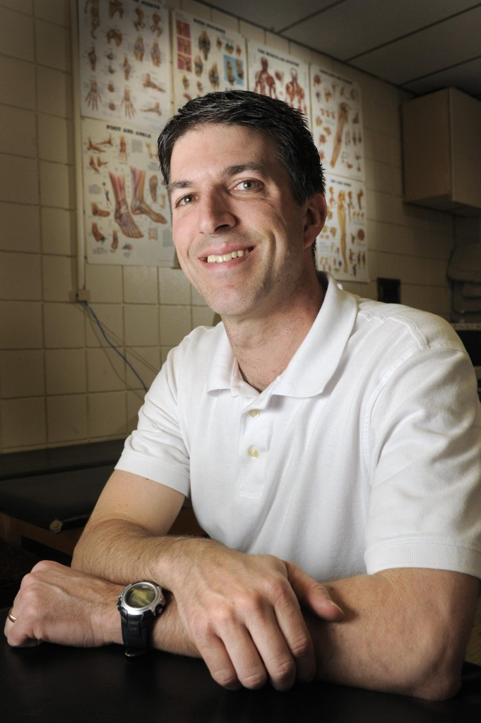 Greg Tosi, a certified athletic trainer, will be working closely with Deering High's baseball pitchers when they begin official practices on Monday, along with baseball and softball pitchers throughout the state.