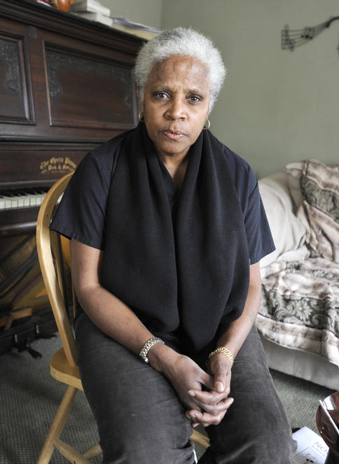 """Mary-Vienessa Fernandes, one of the Casco residents calling for Selectwoman Barbara York to resign over a racist e-mail, says """"I won't allow them to push this under the rug."""""""