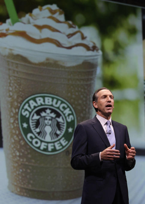 Starbucks brought back Howard Schultz as CEO, as part of a turnaround that pared $580 million in annual expenses.