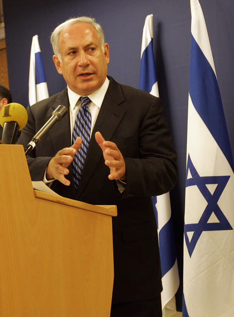 Prime Minister Benjamin Netanyahu of Israel has defended his nation's settlement policy.