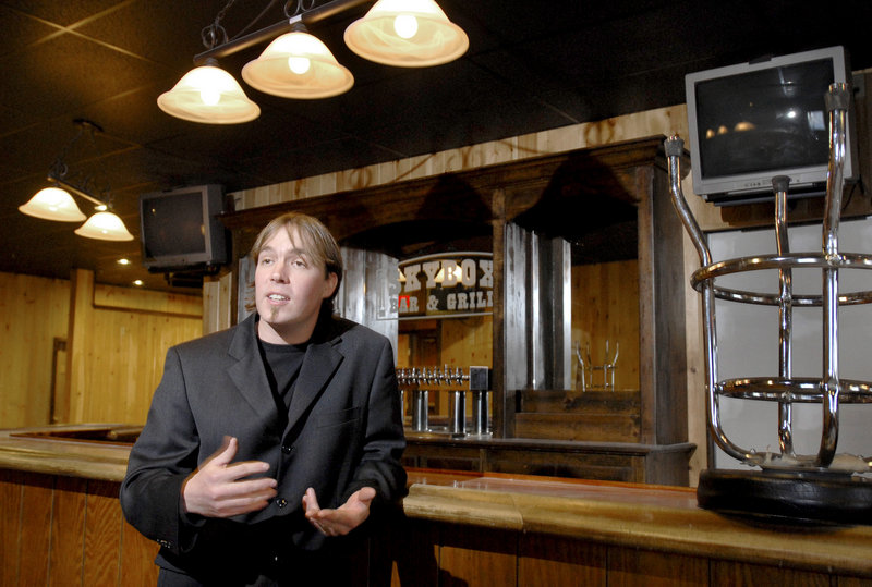 """I feel we deserve all our licenses just like every other drinking establishment in town,"" says Allen Moore, co-owner of the Skybox."