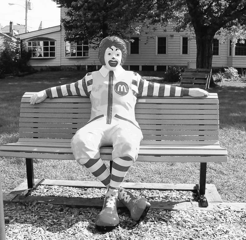McDonald's says that Ronald McDonald's role as ambassador hasn't changed, despite a survey reportedly supporting his ouster.