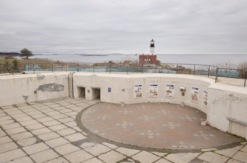 The Fort Williams Advisory Commission wants to restore Battery Blair, one of six batteries built at the beginning of the last century.