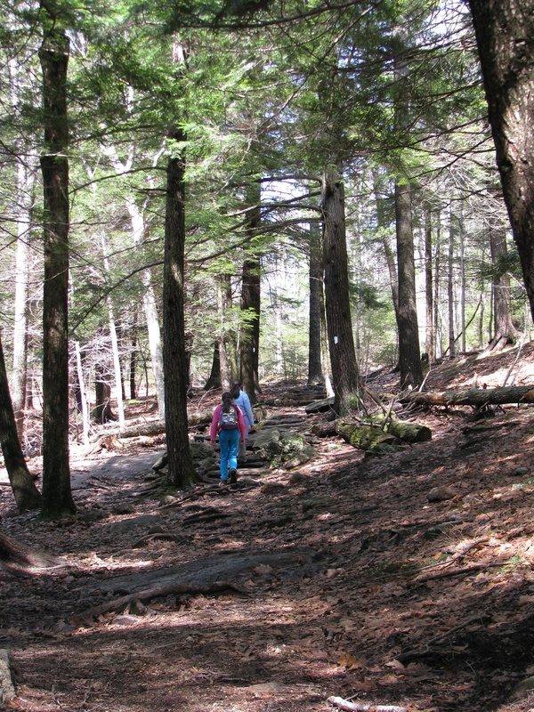 It's a short and fairly easy tromp to the summit of Bradbury even for little ones, with a total elevation gain of about 200 feet. Another plus for families with young children: There are picnic tables as well as a large playground at the trail head.